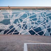 Quest'opera di street art vi farà galleggiare nell'Adriatico
