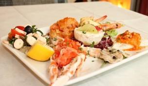 Potete recuperare il weekend piovoso con un buon piatto di pesce. Ecco dove