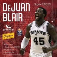 Un Blair torna in maglia Vuelle: DeJuan completa il roster per la stagione 2019/2020
