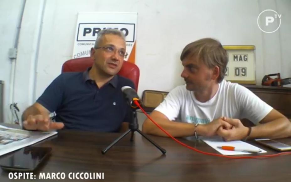 Un'estate di eventi: la video-intervista a Marco Ciccolini