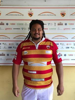 Dread, sostanza e simpatia: Marmaan è già l'idolo della Paspa Pesaro Rugby