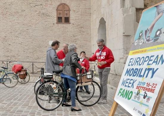 Fano è la terza città d'Italia nel Giretto della Settimana della Mobilità Sostenibile