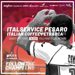 LIVE Italservice Pesaro - Italian Coffee Petrarca