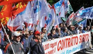 Giovedì 31 ottobre sciopero generale di due ore dei metalmeccanici Fiom Fim e Uilm