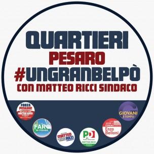 """Ricci: """"Vince e stravince la lista #ungranbelpo' in tutti e 12 i quartieri di Pesaro"""""""