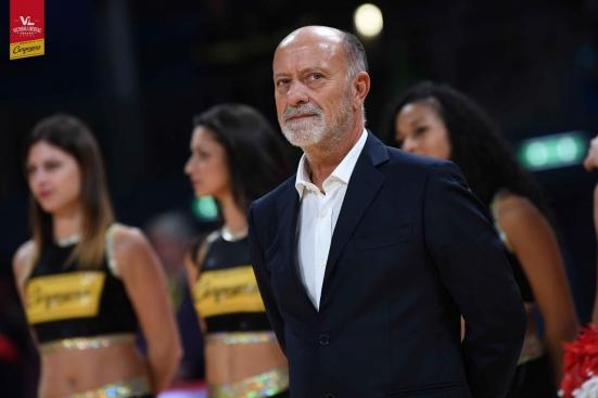 """Coach Giancarlo Sacco nel pre VL - Pistoia: """"Sappiamo che la partita che ci attende è uno spareggio"""""""