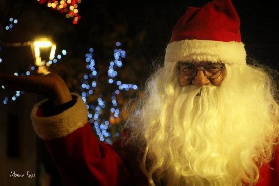 Babbo Natale arriva in slitta a Pesaro e Urbino