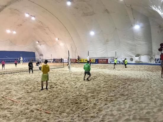 Domenica ripartono i campionati di beach tennis indoor