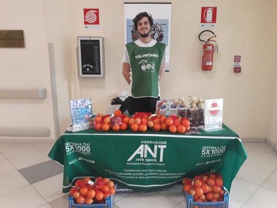 A febbraio scegli le arance di Frescofrutta: sosterrai l'assistenza alle persone malate di tumore assistite da ANT
