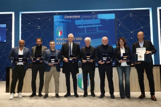 """A mister Colini il prestigioso premio """"Panchina d'oro 2018/2019"""""""