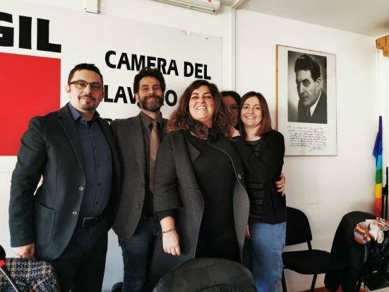 Brunella Spaccazocchi alla guida del patronato Inca Cgil Pesaro e Urbino