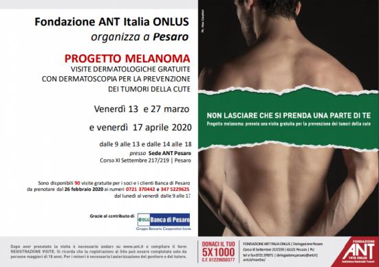 Boom di richieste, la Banca di Pesaro offre altre 3 giornate di visite dermatologiche gratuite