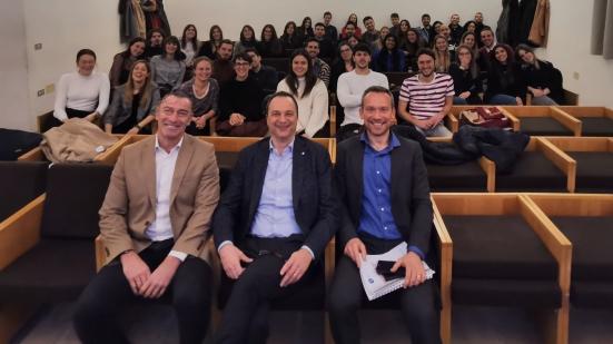 Collaborazione tra università e imprese, arrivano i complimenti dell'azienda Fileni agli studenti di Urbino