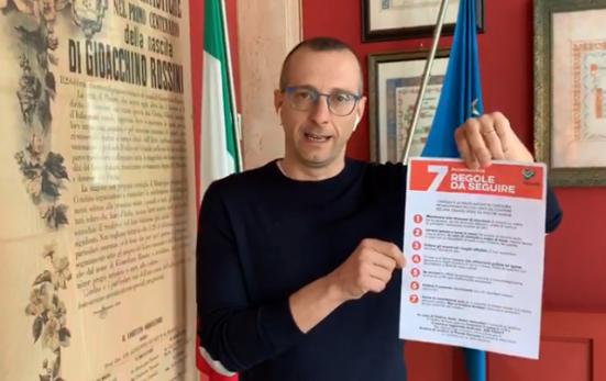 """Coronavirus, Ricci: """"Seguiamo le sette regole del Sistema sanitario nazionale"""""""