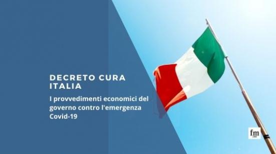 """Decreto """"Cura Italia"""", pubblicato il testo completo a sostegno del Paese"""