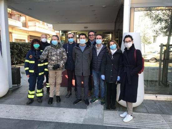 """All'ospedale di Pesaro arrivano tre anestesisti volontari della """"task force"""" nazionale"""