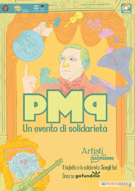 Anche Pesaro avrà il suo Primo Maggio: un evento smart di solidarietà tra musica, teatro, lettura e letteratura