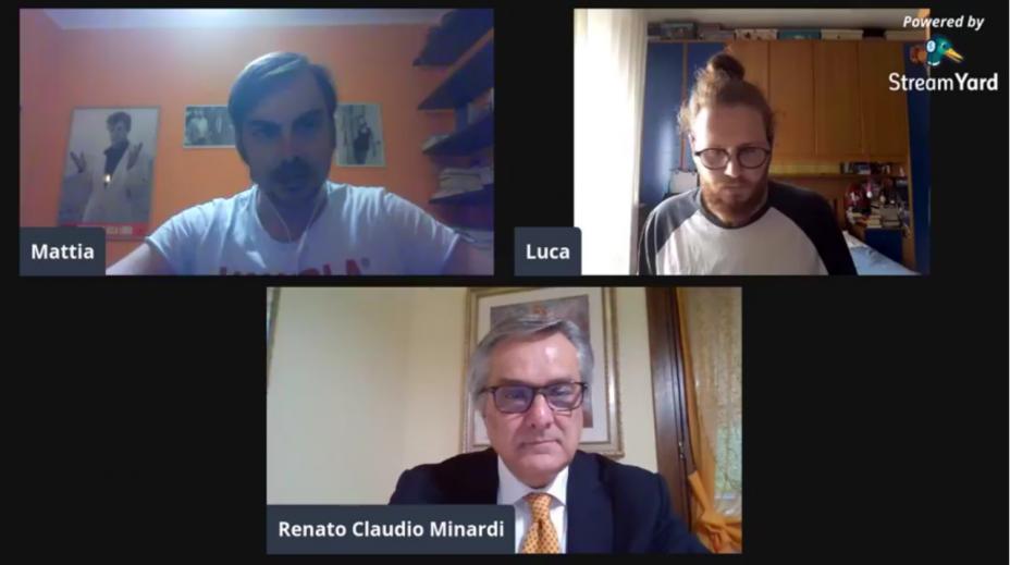 A sostegno dell'economia delle Marche: la video-intervista a Renato Claudio Minardi