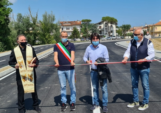 """Aperta la strada di collegamento tra Vismara e Cattabrighe, Ricci e Belloni: """"Opera strategica e attesa da tempo"""""""