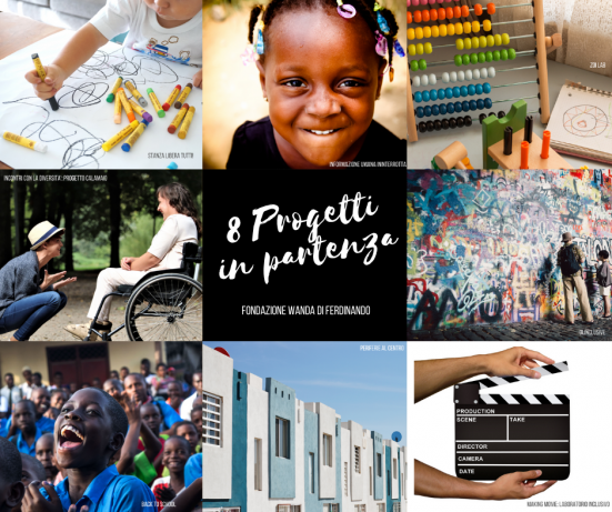 Fondazione Wanda Di Ferdinando, 60.000 euro di fondi stanziati per iniziative a favore del diritto all'istruzione e dell'infanzia