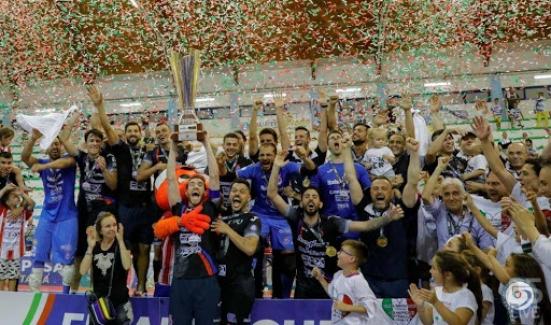 15 giugno 2019 - 15 giugno 2020: oggi un anno dal primo scudetto dell'Italservice Pesaro - VIDEO