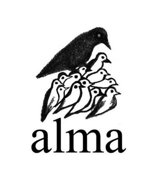 Enzo Cucchi ha realizzato il logo di ALMA