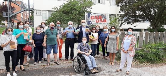 Consegnate 2.700 mascherine ai bambini di Fano grazie all'Agfh e ai centri anziani