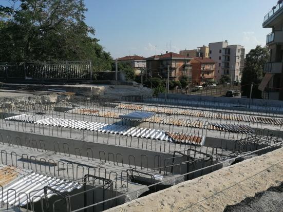 Come stanno andando i lavori sul ponte di via La Marca a Pesaro