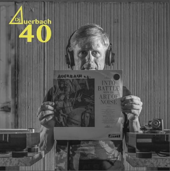 """E' uscito il libro """"Dj Auerbach 40 anni dietro la consolle"""""""