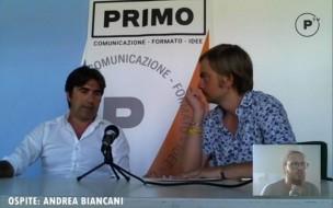 All'ascolto del territorio: la video-intervista ad Andrea Biancani
