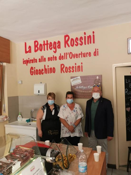 A Sarre, in Valle D'Aosta, c'è una bottega dedicata a Rossini