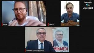 Tra la gente e per la gente: la video-intervista a Renato Claudio Minardi