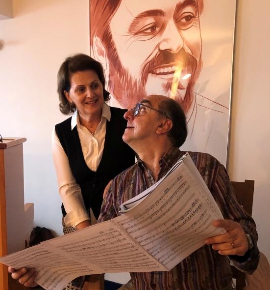 Bruno De Simone e Alessandra Rossi arrivano a Pesaro per il corso di alto perfezionamento nel canto lirico
