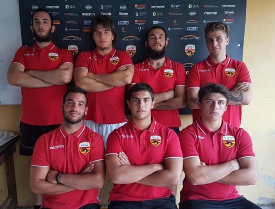 Dall'under 18 alla prima squadra della Pesaro Rugby: sette giovani pesaresi per la serie A