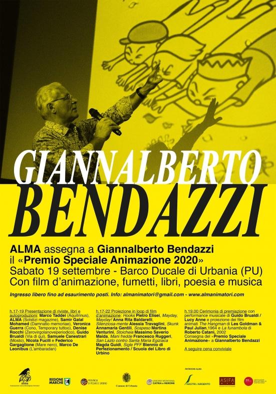A Giannalberto Bendazzi il Premio Speciale Animazione 2020 di Alma
