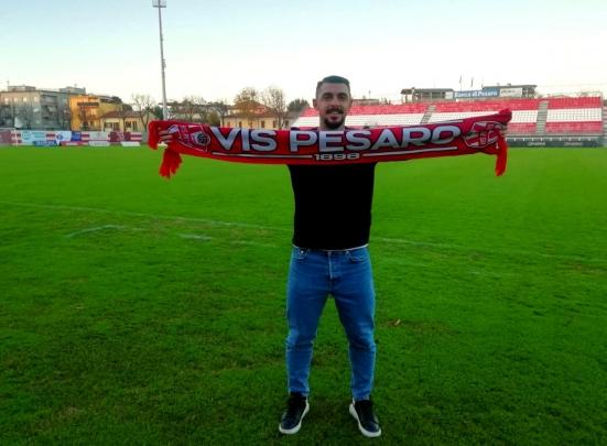 Di Paola ha firmato con la Vis Pesaro: il classe '97 va a rinforzare il centrocampo biancorosso