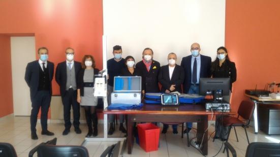 Confindustria Marche Nord ha donato un sistema radiologico portatile all'Area Vasta 1