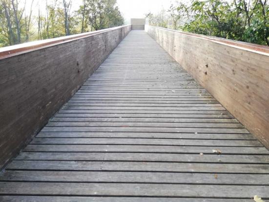 Bottega e Pian del Bruscolo saranno collegate da un ponte ciclopedonale sopra il Foglia
