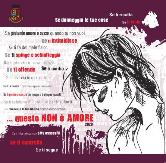 """Finora in Italia nel 2020 88 omicidi di donne, il 7,3% in più rispetto al 2019: la Polizia di Stato pubblica il report """"Questo non è amore"""""""