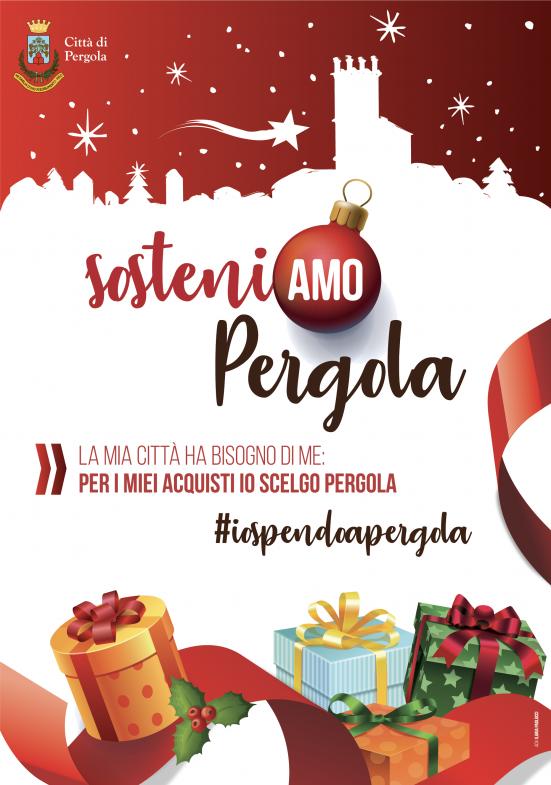 #IoSpendoaPergola: dall'amministrazione comunale un invito chiaro a sostenere la città e le attività locali