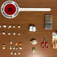 50enne pesarese trovato con 35 grammi di cocaina nei pressi del Parco Miralfiore