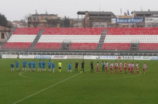 Combattuta, sofferta, voluta e tre punti pesantissimi: è della Vis Pesaro la sfida contro l'Arezzo