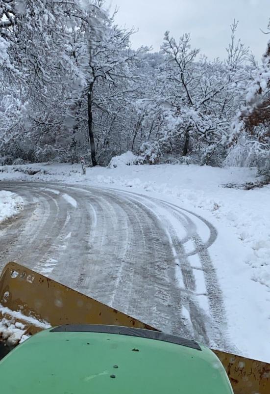 Bollettino transitabilità sulle strade provinciali, 38 mezzi impiegati per sgombro neve e trattamenti antighiaccio