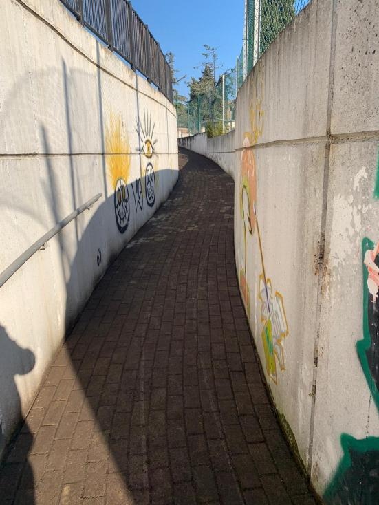 È riqualificato il sottopasso di San Cristoforo a Fano