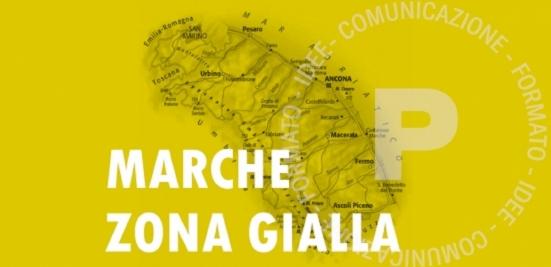 Da lunedì le Marche torneranno in zona gialla