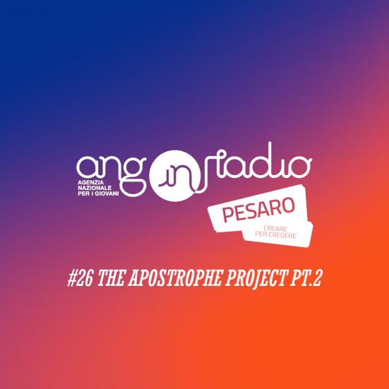 ANG In Radio Pesaro - Creare per credere #26