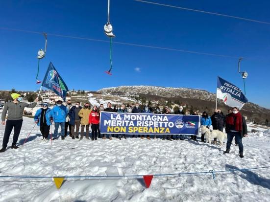 """Fratelli d'Italia Marche a sostegno degli operatori: """"La montagna merita rispetto, non Speranza"""""""