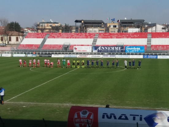 Dominio totale del Perugia e Vis mai pericolosa: gli ospiti battono i pesaresi 1 a 0