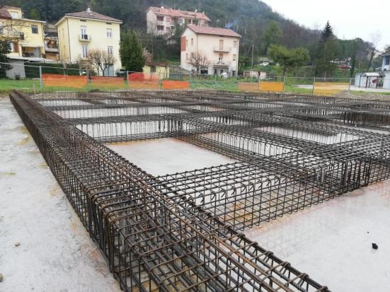 Città di Vallefoglia, proseguono i lavori di costruzione del nuovo Municipio a Montecchio