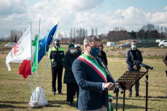 «Non sottovalutiamo la forza del ricordo», l'intervento di Massimo Seri alla cerimonia per le vittime del covid